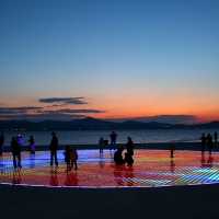 Greeting to the Sun in Zadar, Croatia with Maestral Travel Agency
