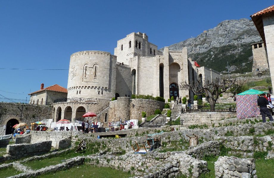 Kruje, Albania with Maestral Travel Agency