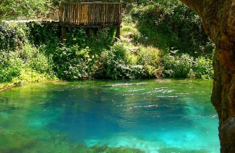 Blue Eye, Albania with Maestral Travel Agency