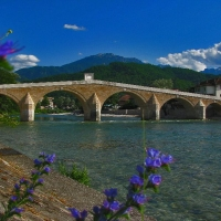 Stone bridge in Konjic with Maestral Travel Agency
