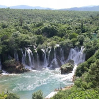 Kravica waterfall with Maestral Travel Agency