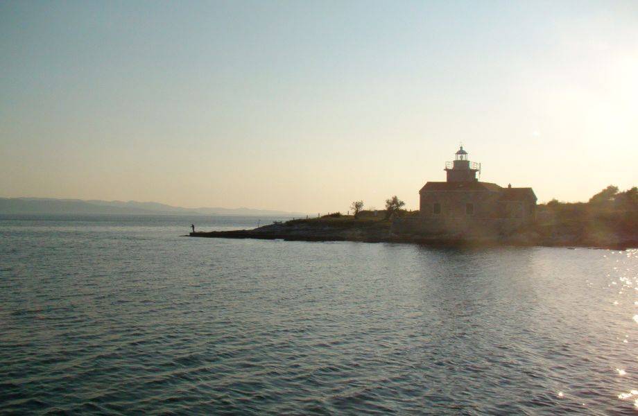 A lighthouse, Croatia with Maestral Travel Agency