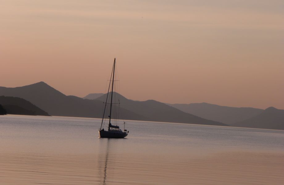 Sailing on sunset, Croatia with Maestral Travel Agency