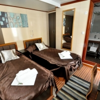MS President, twin room with Maestral Travel Agency