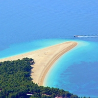 Golden Cape Beach in Bol, Island Brac, Croatia with Maestral Travel Agency