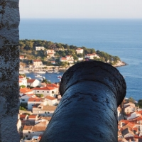 View from the Fortress in Hvar, Croatia with Maestral Travel Agency