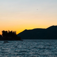 Sunset in Korcula, Croatia with Maestral Travel Agency
