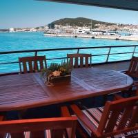 Deck on Dalmatia Oldtimer with Maestral Travel Agency