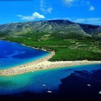 Golden Cape Beach in Bol, Island Brac, Croatia with Maestral Travel Agency