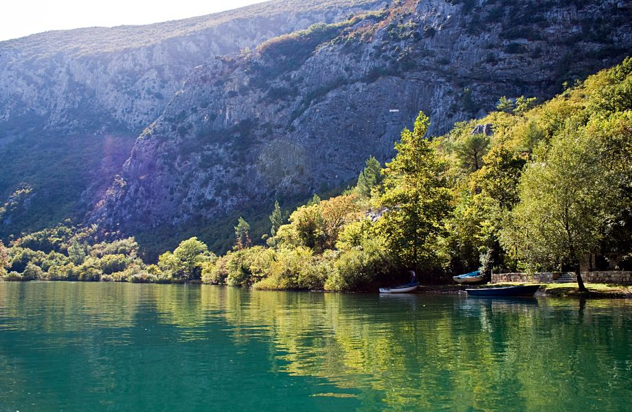 River Cetina in the Region of Sinj with Maestral Travel Agency