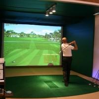 Indoor golf of Bluesun Hotel Elaphusa in Bol, Brač with Maestral Travel Agency