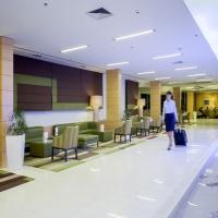 Lobby of Bluesun Hotel Elaphusa in Bol, Brač with Maestral Travel Agency
