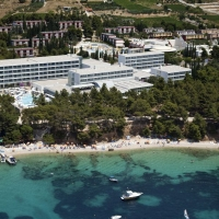 Panorama of Bluesun Hotel Elaphusa in Bol. Brač with Maestral Travel Agency