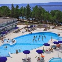 Pool of Bluesun Hotel Elaphusa in Bol, Brač with Maestral Travel Agency