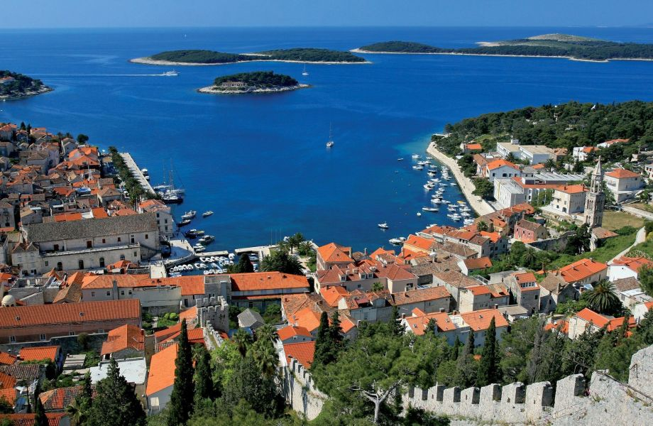 City of Hvar, Island of Hvar, Croatia with Maestral Tourist Agency