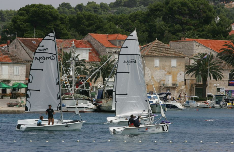 Sailing on Island Brac, Croatia with Maestral Travel Agency
