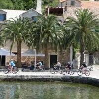 Biking on Island Brac, Croatia with Maestral Turist Agency