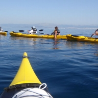 Sea kayaking in Dalmatia, Croatia with Maestral Travel Agency