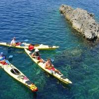Sea kayaking in Dalmatia, Croatia with Maestral Travel Agency