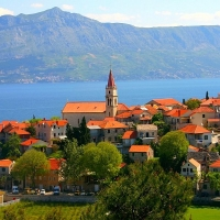 Village Postira, Island of Brac with Maestral Travel Agency