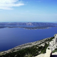 The view from Vidova gora, Brač with Maestral Travel Agency