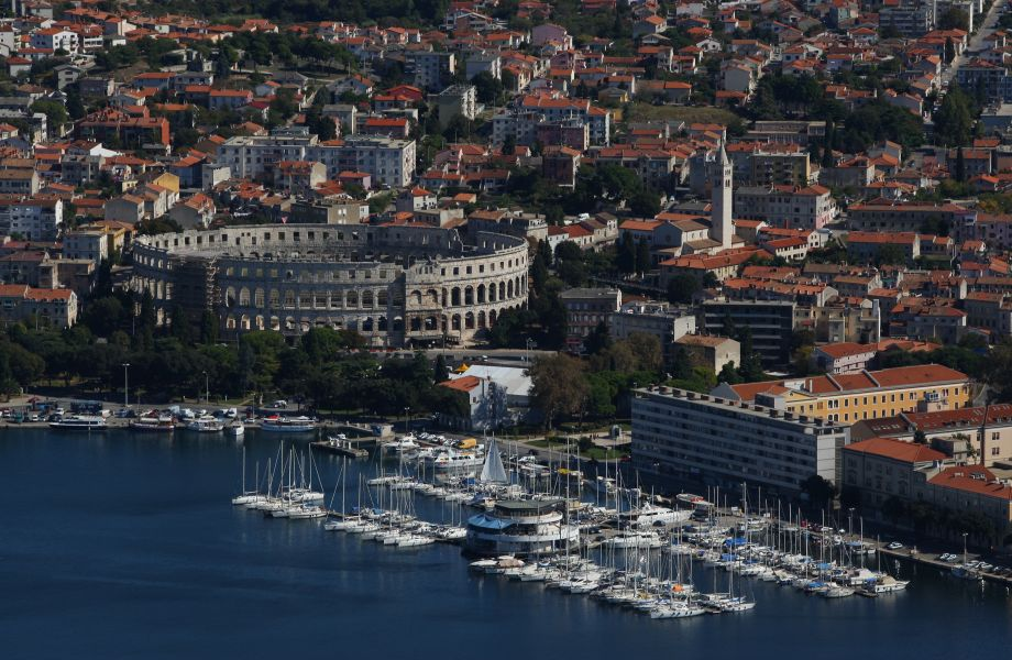 Pula, Croatia with Maestral Travel Agency