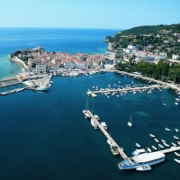 Marina at Budva, Montenegro with Maestral Travel Agency
