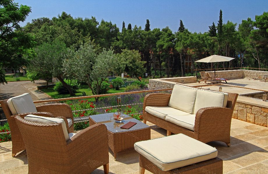 Terrace in Hotel Amor with Maestral Travel Agency